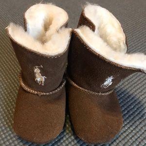 Infant baby booties
